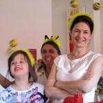 Drei kesse Bienen