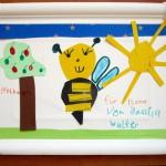 Bienenzeichnung von Jessica