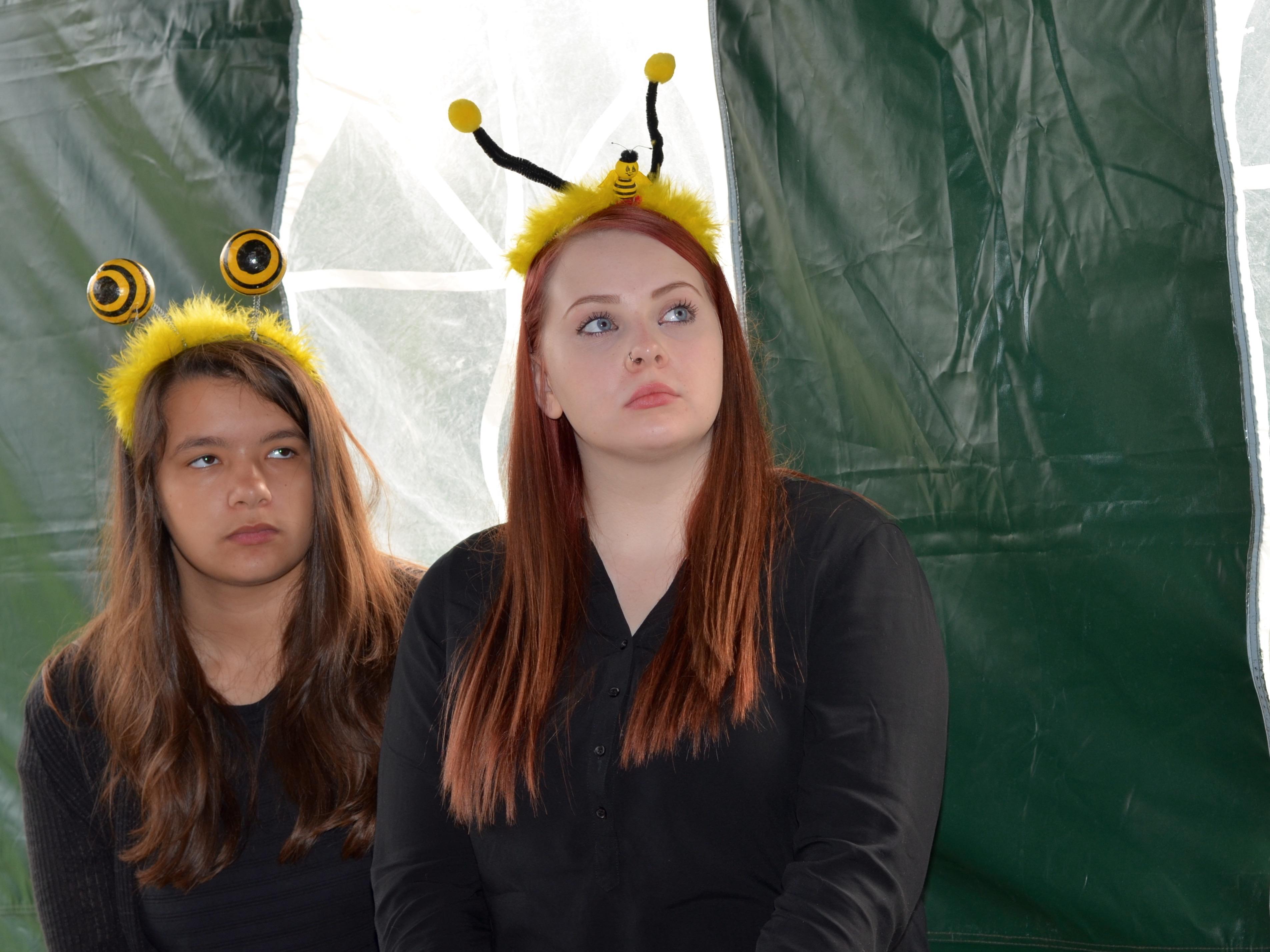 Coburger Kinder- und Jugendtheater e. V., Gruppe Pantastico, zur Eröffnung der Bienen-InfoWabe am 20.09.2015