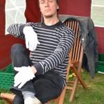 Markus Dorsch, Künstlerischer Leiter des Coburger Kinder- und Jugendtheaters e. V. zur Eröffnung der Bienen-InfoWabe am 20.09.2015
