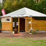 Die Bienen-InfoWabe am Eröffnungstag 20.09.2015