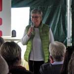 Grußworte von Sabine Sauer (1. Vorsitzende des Bürgervereins Bamberg-Mitte e. V.) zur Eröffnung der Bienen-InfoWabe am 20.09.2015