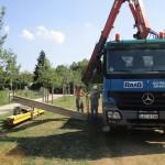 Baustelle wird aufgeräumt