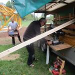 Rüsten der Baustelle
