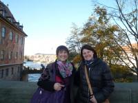 Jutta zu Besuch in Bamberg