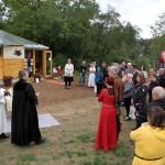 Festtagsgäste zur Weihe der Bienen-InfoWabe am 20.09.2105