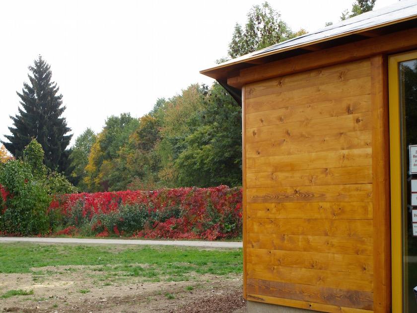 Erster Herbst für die Bienen-InfoWabe