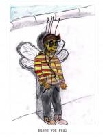 Bienenzeichnung von Paul