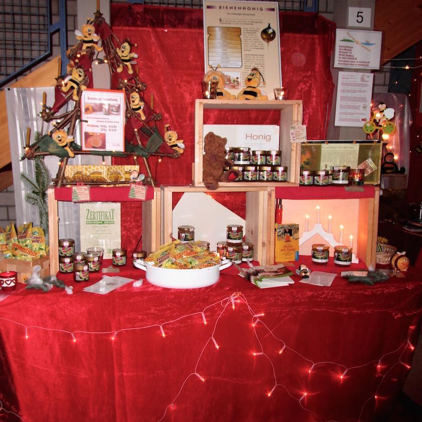 Weihnachtsstand von Bienen-leben-in-Bamberg.de