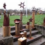 Schöne Objekte (Holzdesign Balling) am Weihnachtsmarkt