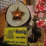 Honigstand am Don Bosco Weihnachtsmarkt