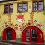 Gemälde am Narrenhaus in Veitshöchheim