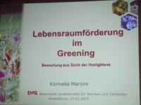 Folie @ Kornelia Marzini, Eingangsfolie Vortrag Imkerforum Veitshöchheim