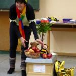 Demonstration Apfelertrag mit und ohne Bienenbeflug
