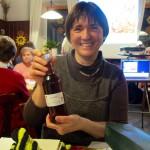 Rosenlikör als Dankeschön für Vortrag zur MV des OGV Bamberg-Wildensorg