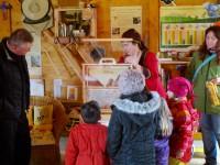 Schaufensterbeute, Hausführung zum Saisonstart 2016 der Bienen-InfoWabe (BIWa)