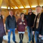 Gäste zum Saisonstart der Bienen-InfoWabe (BIWa) 2016