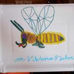 8298-Papptellerzeichnung-Biene