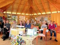 Vortragsgäste zum Programmstart der Bienen-InfoWabe (BIWa) 2016
