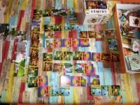 Domino-Spiel mit Maja-Motiven