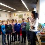 Schulbienenunterricht in Baunach, 2b