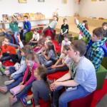 Schulbienenunterricht in Baunach, 2a
