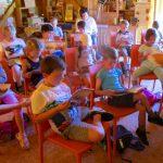 Vorlesen im Schulbienenunterricht für die Lichteneiche-Klasse 1a