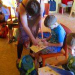 Schulbienenunterricht für die Gundelsheimer Schulklasse 3b – Rätsel lösen