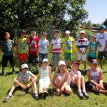 Gruppenfoto für die Gundelsheimer Schulklasse 3a,