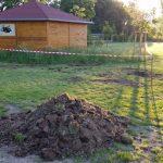 Umgriffarbeiten an der Bienen-InfoWabe, 23.06.2016, mit den Pfadfindern der DPSG St. Josef Bamberg