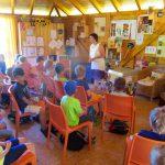 Schulbienenunterricht für die Lichteneiche-Klasse 1b