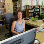 Bienenpatin Melanie Schmitt, Organisatorin der Nachhaltigkeitswoche
