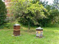 Zwei Bienenstöcke an der Sternwarte Bamberg
