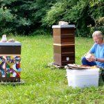 Vorbereitung zur Honigentnahme