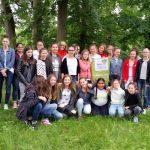 Gruppenbild 7. Klasse Maria-Ward-Realschule Bamberg
