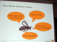 Vortragsfolie @ Barbara Bartsch zu Bienenwünsche