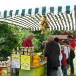 Imkerstand Machinek am Tag der offenen Tür im Bioversuchsgelände Bamberg
