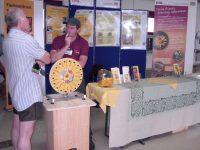 Stand des Fachzentrum für Bienen der LGW
