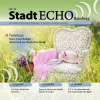 Cover StadtECHO Juli-Ausgabe 2016