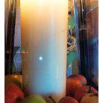 Kerzen-Deko Saison-Abschlussfeier BIWa