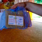 Unsere Wabenprobe für Untersuchung beim Bienengesundheitsdienst