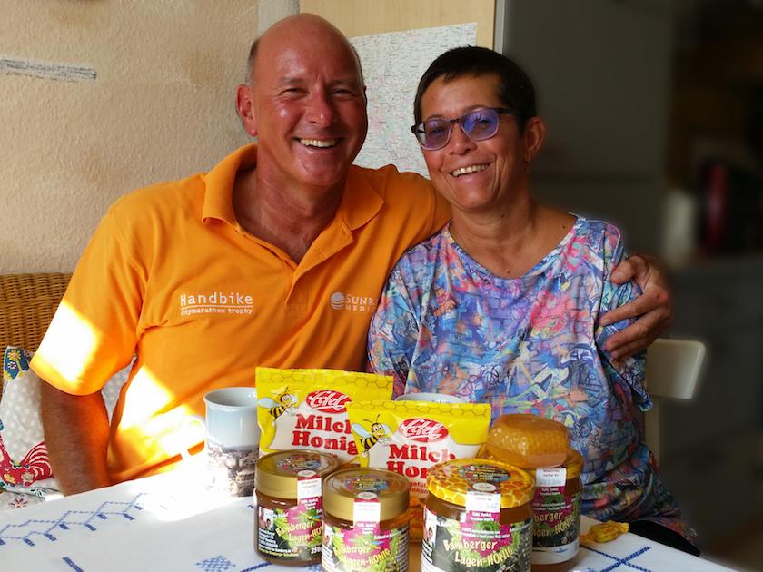 Bienenpaten Hans und Anne Zirkel beim Pateninterview