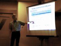Vortrag Reinhold Burger Bienenkrankheiten zur MV IBZV