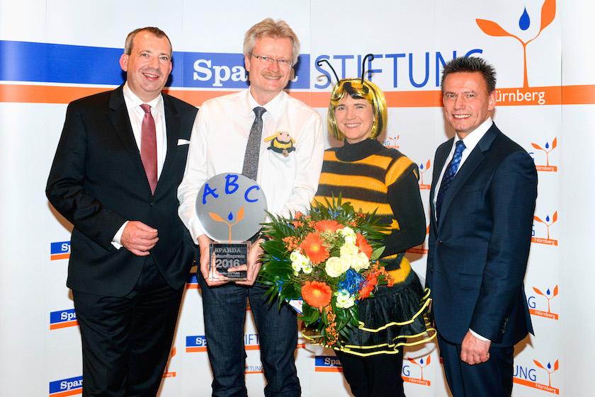 Spardabank Zukunfstpreis 2016 an Bamberger Schulbiene