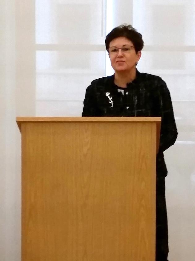 Grußworte MdL Gudrun Brendel-Fischer, Landwirtschaftsausschussmitglied.