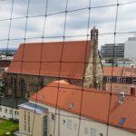 Heilggrab-Kapelle, Sicht aus der Landesjustizkasse