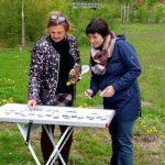 Vorbeitung des Schau-Staudengartensmit Petra Dotterweich
