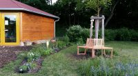Bamberger Bienengarten an der Bienen-InfoWabe