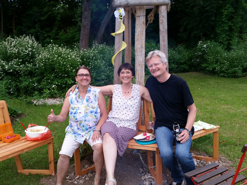 Jeannette, Ilona und Reinhold