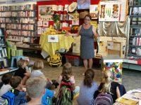 Elke Fichtner begrüßt die 3a der Kilian-Grundschule Scheßlitz